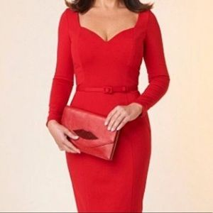 Banana Republic L'Wren Scott Red Dress